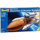 Revell 04736 - Modellbausatz Space Shuttle Discovery & Booster Rockets im Mastab 1:144von &#34;Revell&#34;