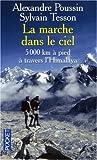 echange, troc Alexandre Poussin, Sylvain Tesson - La marche dans le ciel : 5 000 Kilomètres à pied à travers l'Himalaya