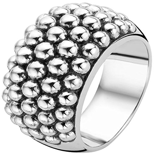 Ti Sento Rhodium Plated Sterling Silver Ring-1792SI
