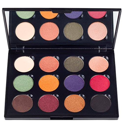 Coastal Scents Fall Festival Palette, 12 Eyeshadow Makeup Kit, 8.5-Ounce