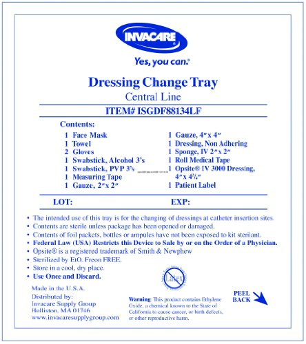 Special Sale - 1 Pack of 5 - Central Line Dressing Change Kit with Opsite ISG... (Central Line Dressing Kit compare prices)