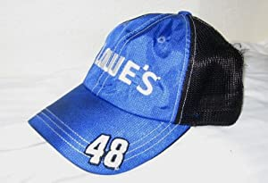 Authentic Nascar 2013 Jimmie Johnson Hendrick Team Issued Hat Hendrick Lowes Chevy... by Authentic+Nascar+Racing+Gear