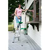 Werner 6-Foot 225-Pound Duty Rating Aluminum Stepladder #356