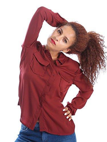Pepe jeans PL301833 Camicia Donna Marrone L