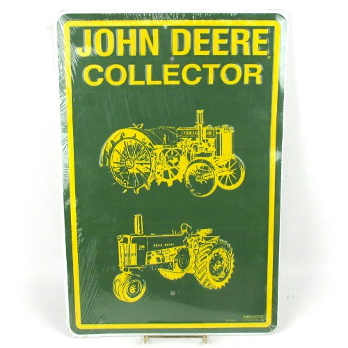 """JOHN DEERE LICENSED PRODUCT """"Nothing Runs Like a Deere"""" Tin Sign- PS 30021"""