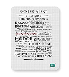 PosterGuy Mouse Pad- Being Indian Spoiler Alert | They All Died Got | Designed By :- Being Indian