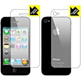 iPhone 4S�Ή� ����^�C�v�ی�V�[�g�wCrystal Shield for iPhone 4 (���ʃZ�b�g)�x