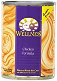 Wellness Canned Cat Food, Chicken Recipe, 12-Pack of 12-1/2-Ounce Cans