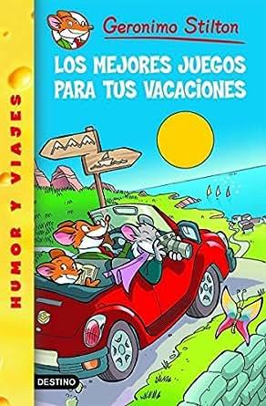 Amazon.com: Los mejores juegos para tus vacaciones: Geronimo Stilton