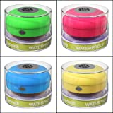 Colorful Portable Mini HIFI Waterproof Shower Pool Wireless Bluetooth Speaker Handsfree with Mic Quantity:1 By FamilyMall Store