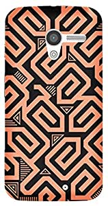 TrilMil Printed Designer Mobile Case Back Cover For Motorola Moto X (1st Gen)