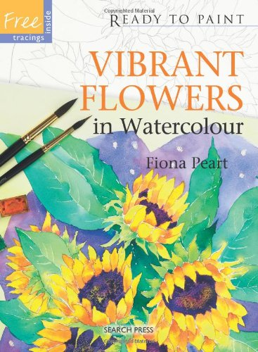 Vibrant Flowers in Watercolour (Ready to Paint)