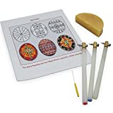 3 Kistkas, Beeswax, Cleaning Wire & Instructions Egg Decorating Kit