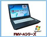 ���� �x�m�� �m�[�g�p�\�R�� FMV-A8270 (Intel Core 2 Duo Windows7 1.8 GHz DVD ����LAN ���15�C���`)