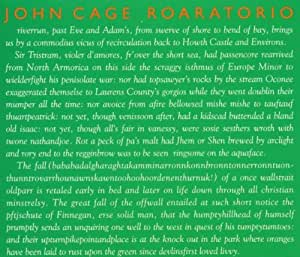 Cage:  Roaratorio; Writing for