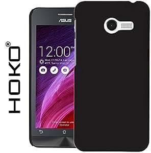 Zenfone 4 A400CG Case, HOKO® Ultra Thin Rubberized Matte Hard Case Back Cover for Asus Zenfone 4 A400CG (Black)
