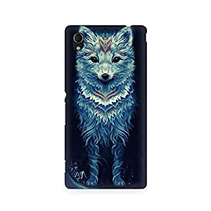 MOBICTURE Wolf Premium Designer Mobile Back Case Cover For Sony Xperia M4
