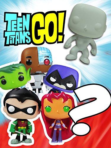 TEEN TITANS GO! Pop Characters + MYSTERY Teen Titans Go Pop Character & Robin Raven Cyborg Starfire