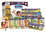 Early Reading Program for Baby, Toddler, Preschool, Kindergarten- Alphabet, Vowel Phonics & 200+ Sight Words - Little Champion Reader 9 DVD, Flash card, Book Kit