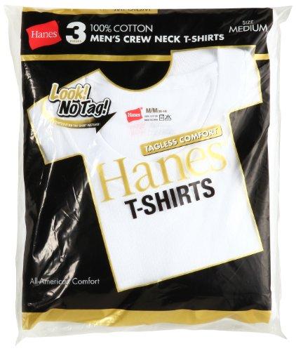 (ヘインズ)Hanes 3P ゴールドパック クルーネックTシャツ H2155TN-010 010 ホワイト M