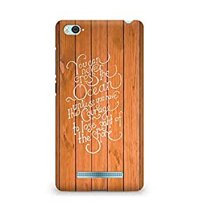 AMEZ you can never cross the Ocean Back Cover For Xiaomi Mi4i