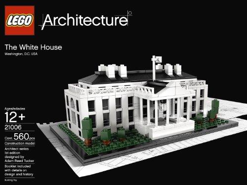lego 21006 乐高 建筑系列之美国白宫