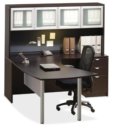 corner desk with hutch by office source discount