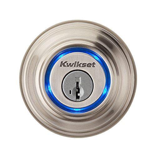 Kwikset Kevo (1st Gen) Touch-to-Open Bluetooth Smart Lock in Satin Nickel (Nfc Door Lock compare prices)