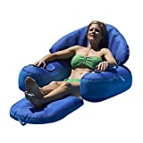 Blue Wave Leisure Cloud Fabric Covered Pool Lounger
