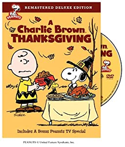 A Charlie Brown Thanksgiving Remastered Deluxe Edition by Warner Home Video