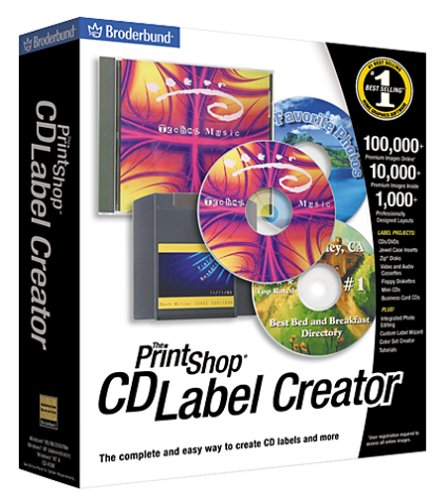 Print Shop CD Label Creator