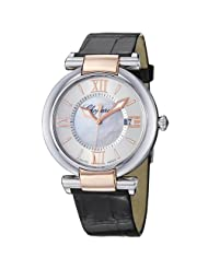 Chopard Women's 388532-6001_LBK Imperiale Black Leather Strap Watch