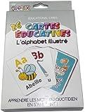 26 CARTES EDUCATIVES ALPHABET ILLUSTRE
