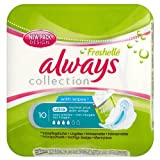 Always Freshelle Normal Plus Silk Collection With Wings