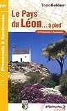 echange, troc FFRandonnée - Le Pays du Léon à pied : 33 Promenades et randonnées