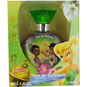 Disney Tinkerbell Fairies Eau de Toilette Spray for Women, 3.4 Ounce from Disney
