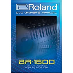 Roland (Boss) BR-1600 DVD Video Training Tutorial Help