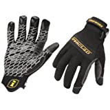 Ironclad BGW-03-M Gripworx Series Gloves, Black, Medium