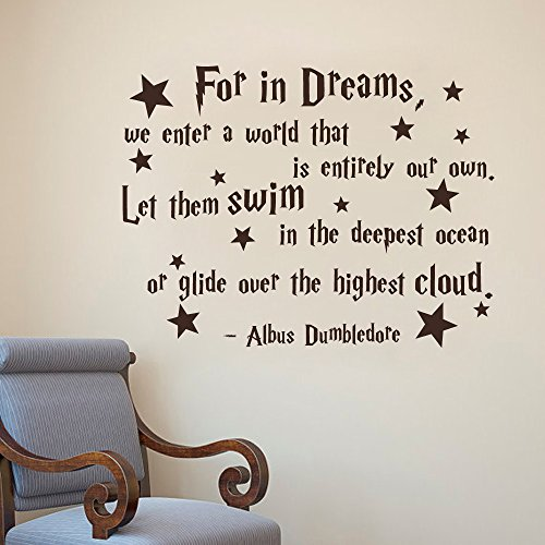 albus-dumbledore-quote-for-in-dreams-we-enter-a-world-that-is-entirely-our-own-harry-potter-wall-dec