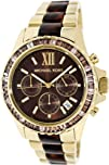 Michael Kors Glitz and Glamour Chronograph Brown Dial Ladies
