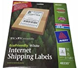 Avery Ecofriendly Internet Shipping Labels 5 1/2 X 8 1/2 (100 Labels)