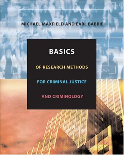 statisticcal methods in criminal justice An analysis of the various criminal justice research methods and statistical procedures, with emphasis on research design, questionnaire construction, the construction and use of surveys, uses of available data, methods of collecting and analyzing data, the testing of hypotheses, the drawing of inferences, and the writing of the research report.