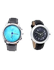 Foster's Men's Blue Dial & Foster's Women's Grey Dial Analog Watch Combo_ADCOMB0002379