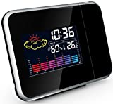 Projection-Clock-Projection-Alarm-Clock-With-Weather-Station-UK-Mains-Adapter-Included-By-ThinkGizmos
