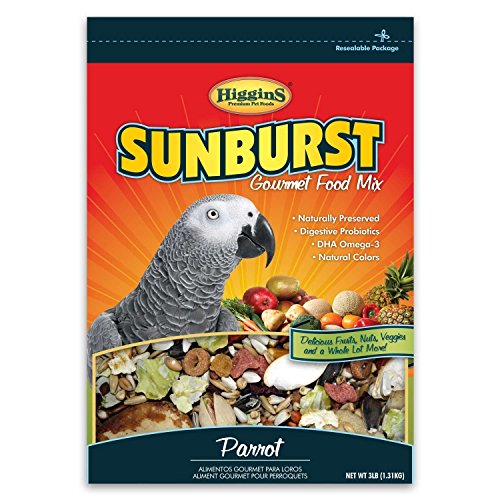 higgins-sunburst-parrot-food-3lb-bag-pack-of-2-6lbs-total