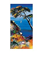 ArtopWeb Panel Decorativo Keiflin Les Herbes Folles 100x50 cm Multicolor