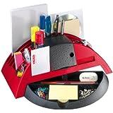 Herlitz 1601376 Big Butler V, Schreibtischbox/ Stiftablage, Farbe rot