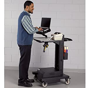 Gun Holder For Mobile Powered Computer Stands: Industrial & Scientific