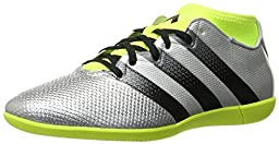 adidas Performance Men\'s Ace 16.3 Primemesh in Soccer Shoe, Silver Metallic/Black/Electricity, 10 M US