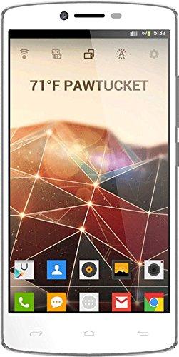 Mobistel Cynus F8 Smartphone 14 cm (5,5 Zoll) IPS HD-Display, 1,3GHz, QuadCore-Prozessor, 13 Megapixel Kamera, Dual-SIM, WiFi, 8GB interner Speicher, Android KitKat 4.4 weiß